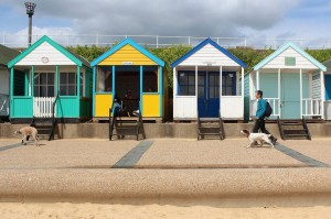 beach huts copyright Thornypup